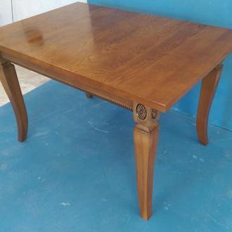 Кухонный стол дуб резьба