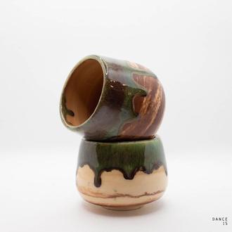 Чашка-пиала тяван для чая керамическая