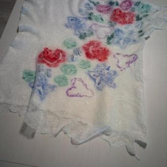"""Блуза женская """"Весенние цветы"""""""