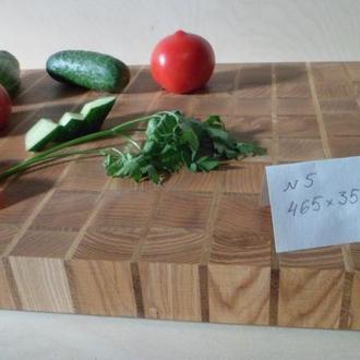 Доска кухонная торцевая разделочная-Ясень