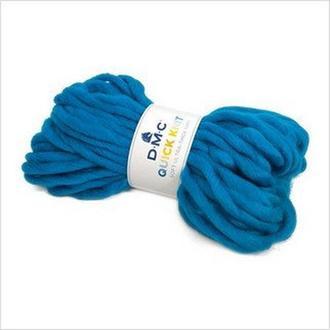 Пряжа QUICK KNIT DMC,цвет голубой