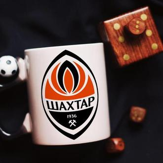 Футбольная чашка хамелеон Шахтёр