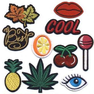 Модные нашивки Embroidery набор №1 (65597)