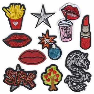 Модные нашивки Embroidery набор №10 (67068)