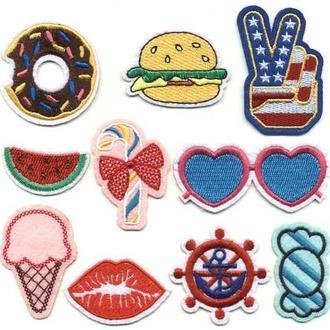 Модные нашивки Embroidery набор №5 (65601)