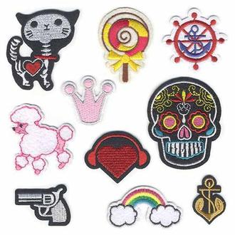 Модные нашивки Embroidery набор №7 (67065)