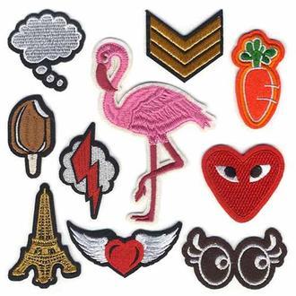 Модные нашивки Embroidery набор №8 (67066)