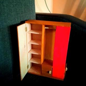 Шкаф для барби. мебель для барби. Мебель для кукольного домика