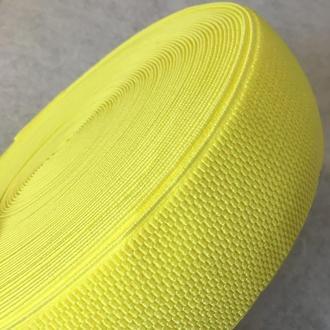 Резинка поясная, манжетная - 6см/25ярд. желтый (653-Т-0149)