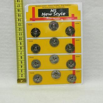 Кнопки для одежды пришивные (декоративные) (653-Т-0247)