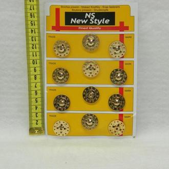 Кнопки для одежды пришивные (декоративные) (653-Т-0250)