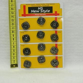 Кнопки для одежды пришивные (декоративные) (653-Т-0259)