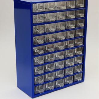 Органайзер для радиодеталей К45, микросхем, диодов, резисторов, предохранителей