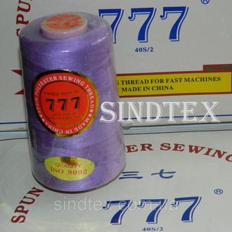 """022 Нитки """"777"""" швейные цветные 40/2 4000ярдов (от 6 бобин) (6-777-022)"""