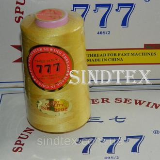 """030 Нитки """"777"""" швейные цветные 40/2 4000ярдов (от 6 бобин) (6-777-030)"""