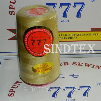 """038 Нитки """"777"""" швейные цветные 40/2 4000ярдов (от 6 бобин) (6-777-038)"""
