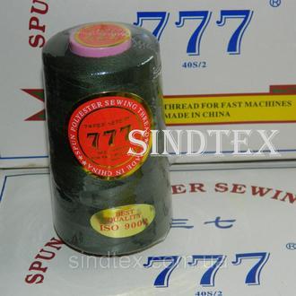 """092 Нитки """"777"""" швейные цветные 40/2 4000ярдов (от 6 бобин) (6-777-092)"""