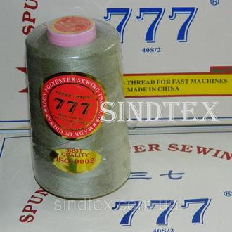 """102 Нитки """"777"""" швейные цветные 40/2 4000ярдов (от 6 бобин) (6-777-102)"""