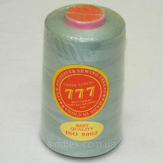 """113 Нитки """"777"""" швейные цветные 40/2 4000ярдов (от 6 бобин) (6-777-113)"""