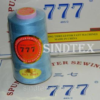 """114 Нитки """"777"""" швейные цветные 40/2 4000ярдов (от 6 бобин) (6-777-114)"""