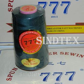 """117 Нитки """"777"""" швейные цветные 40/2 4000ярдов (от 6 бобин) (6-777-117)"""
