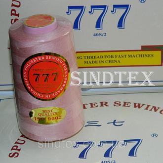 """149 Нитки """"777"""" швейные цветные 40/2 4000ярдов (от 6 бобин) (6-777-149)"""
