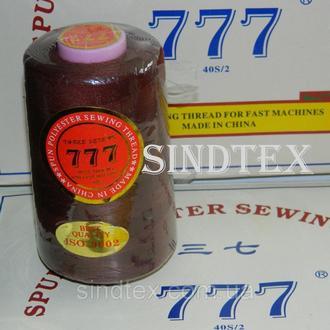 """162 Нитки """"777"""" швейные цветные 40/2 4000ярдов (от 6 бобин) (6-777-162)"""