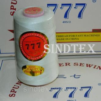 """163 Нитки """"777"""" швейные цветные 40/2 4000ярдов (от 6 бобин) (6-777-163)"""
