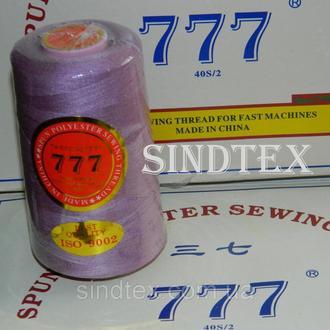 """245 Нитки """"777"""" швейные цветные 40/2 4000ярдов (от 6 бобин) (6-777-245)"""
