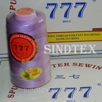 """250 Нитки """"777"""" швейные цветные 40/2 4000ярдов (от 6 бобин) (6-777-250)"""
