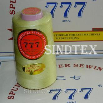 """275 Нитки """"777"""" швейные цветные 40/2 4000ярдов (от 6 бобин) (6-777-275)"""