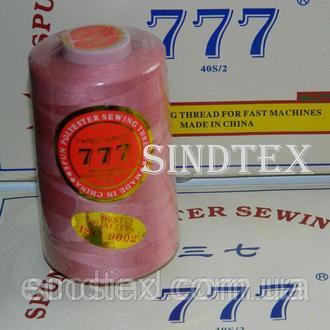 """279 Нитки """"777"""" швейные цветные 40/2 4000ярдов (от 6 бобин) (6-777-279)"""