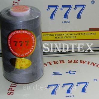 """332 Нитки """"777"""" швейные цветные 40/2 4000ярдов (от 6 бобин) (6-777-332)"""