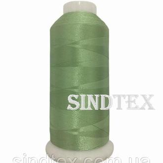 Нить вышивальная 100% РЕ 120/2 цв S-13-0111 (1122) салатовый (боб 5000ярдов) NITEX, боб (ВЕЛЛ-157)
