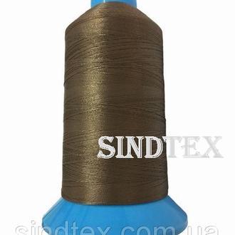 Нить повышенной прочности 100% РЕ 10 цв S-161 коричневый (боб 750 ярдов) Nitex (ВЕЛЛ-186)