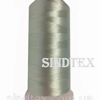 Нить вышивальная 100% РЕ 120/2 цв S-184 зеленый светлый (ВЕЛЛ-216)
