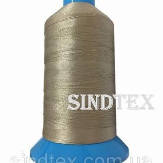 Нить повышенной прочности 100% РЕ 10 цв S-371 бежевый грязный (боб 750 ярдов) Nitex (ВЕЛЛ-299)