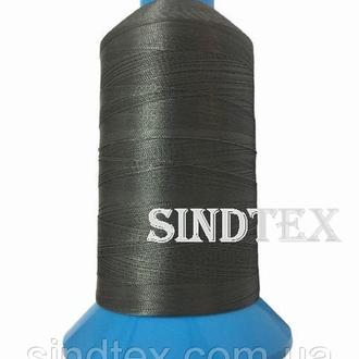 Нить повышенной прочности 100% РЕ 10 цв S-392 серый темный (боб 750 ярдов) Nitex (ВЕЛЛ-307)