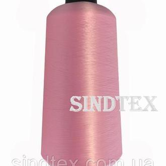 Нить текстурированная некруч 100% PE 150D/1 цв S-513 розовый (боб 15000ярд/60 боб) VERITAS (ex. NITEX), боб (ВЕЛЛ-324)