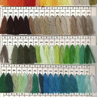 Нить текстурированная некруч 100% PE 150D/1 цв S-570 коричневый темный (боб 15000ярд/60 боб) VERITAS (ex. NITEX), боб (В