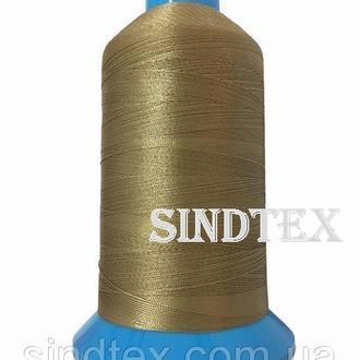 Нить повышенной прочности 100% РЕ 40 цв S-893 бежевый темный (боб 3000ярдов) Nitex (ВЕЛЛ-401)