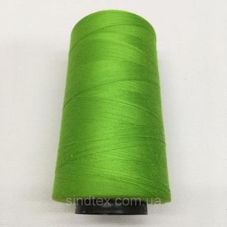 Нитка швацька 100% PE 40/2 кол S-047 зеленый яркий (боб 4000ярдов) NITEX (ВЕЛЛS-047)