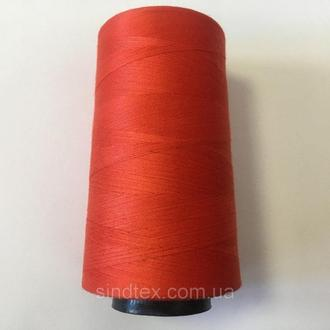 Нитка швацька 100% PE 40/2 кол S-053 оранжевый темный (боб 4000ярдов) NITEX (ВЕЛЛS-053)
