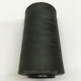 Нитка швацька 100% PE 40/2 кількість S-120 хакі темний (боб 4000ярдов) NITEX (ВЕЛЛЅ-120)