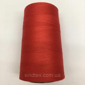 Нить швейная 100% PE 40/2 цв S-18-1662 красный яркий (боб 4000ярдів) NITEX (ВЕЛЛЅ-18-1662)