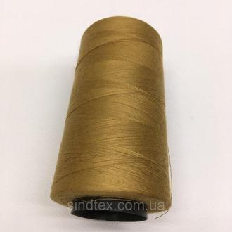Нитка швацька 100% PE 40/2 кол S-241 коричневый светлый (боб 4000ярдов) NITEX (ВЕЛЛS-241)