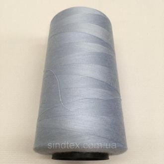 Нитка швацька 100% PE 40/2 кол S-350 голубой (боб 4000ярдов) NITEX (ВЕЛЛS-350)