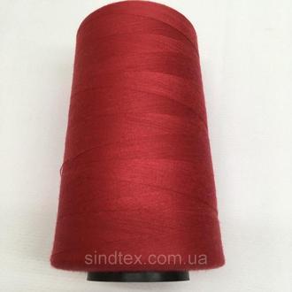 Нитка швацька 100% PE 40/2 кол S-519 красный темный (боб 4000ярдов) NITEX (ВЕЛЛS-519)