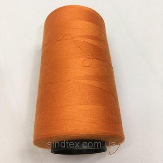 Нитка швацька 100% PE 40/2 кол S-849 оранжевый (боб 4000ярдов) NITEX (ВЕЛЛS-849)