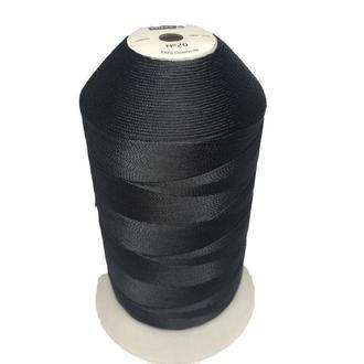 Нить повышенной прочности 210D/6 (20) цв S-580 черный (боб 1500м/6боб/120боб) VERITAS (ex. NITEX), боб (ВЕЛЛ-черный)